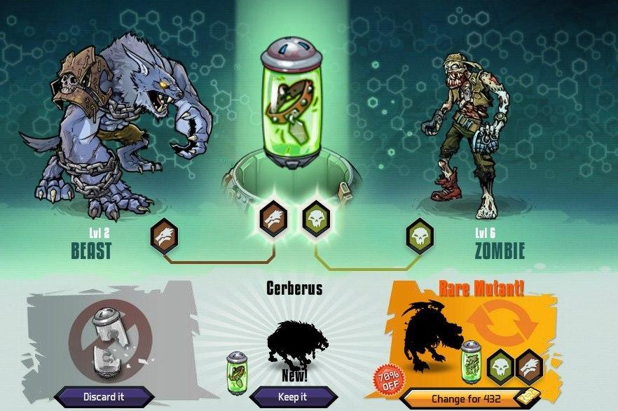 Как в игре мутанты генетические войны сделать андроида